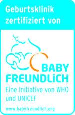 Logo Babyfreundliches Krankenhaus