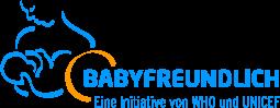 Einer Babyfreundliche Einrichtung erkennt man am WHO/UNICEF-Logo